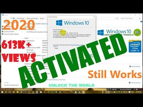 How to activate windows 10 , 8 , 8.1, 7 , All version