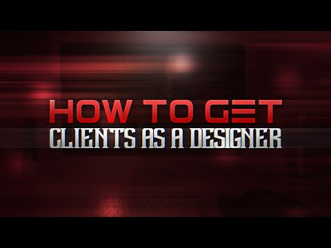 How To Get Clients As A Designer! (Earn Money Designing)