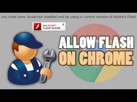 How To Allow Adobe Flash Player on Google Chrome Browser