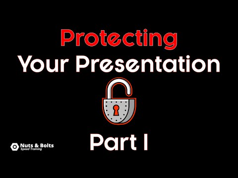 How to protect a PowerPoint presentation
