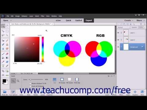 Photoshop Elements 15 Tutorial Color Management Adobe Training