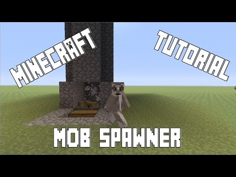 Mob Spawner/Mob Grinder/Experience Farm [Basic](Minecraft Xbox/PS3/PS4)