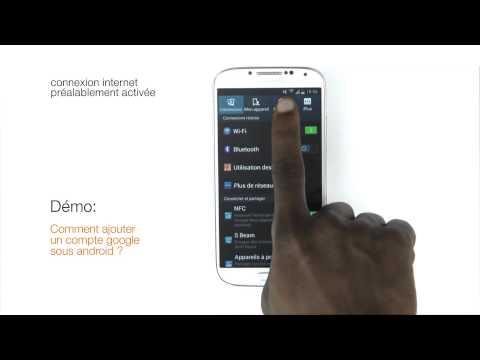 Orange Expert - Comment ajouter un compte google sous android ?