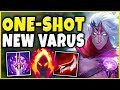 THIS NEW VARUS W MAKES HIM BEYOND BROKEN! *NOT CLICKBAIT* S9 VARUS GAMEPLAY! - League of Legends