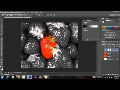 Tutorial Photoshop - Color Splash Effect (Photoshop CS6)