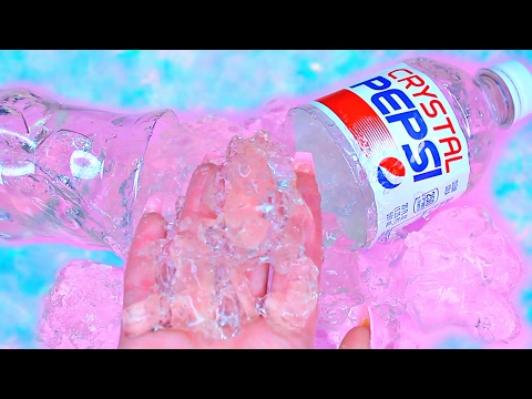 How To Make CRYSTAL CLEAR PEPSI Gummy Pudding Jelly Cooking Learn the Recipe DIY 리얼 콜라 푸딩 젤리 만들기