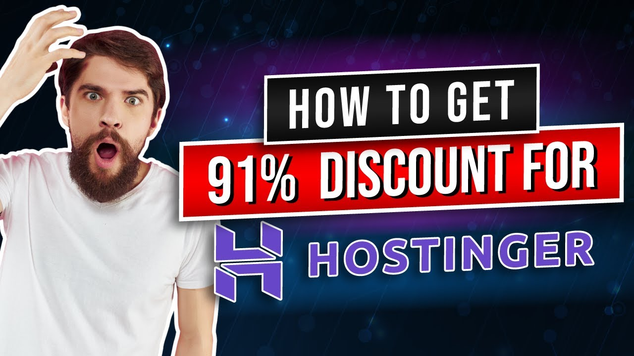 Hostinger COUPON CODE (For All My Cheapos Out There)