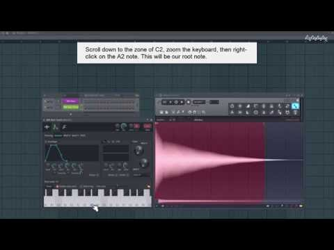 FL Studio Tutorial - How to Tune a Sample and Turn It into an Instrument
