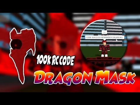 How To Get Dragon Kakuja Mask | Ro-Ghoul | 100,000 RC Code | All Update Showcase
