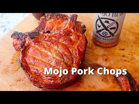 Mojo Pork Chops | Smoked Pork Chops on UDS Smoker