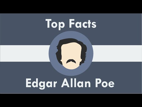 Top 10 Facts - Edgar Allan Poe