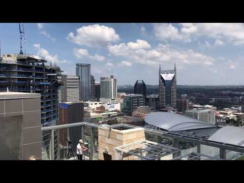 Nashville Skyline Total Eclipse Time Lapse Video