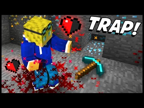 EXTREMELY DEADLY ORE MINING TRAP! - Minecraft Tutorial