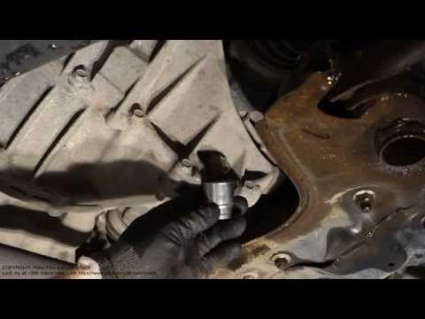 How to replace gearbox oil Yaris Toyota. Years 1991 to 2006