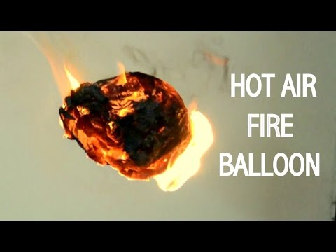 How to Make Hot Air Fire Balloon