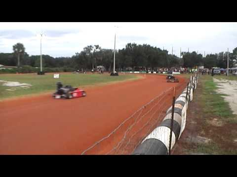 Go kart Racing Oval Dirt