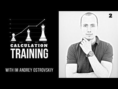 Real-time chess calculation training: long lines