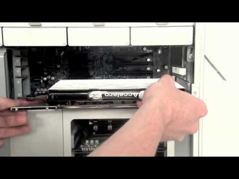Mac Pro Repair - Opening, Video Card & RAM Memory Removal