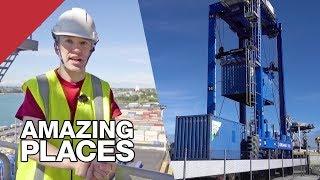 The Hundred-Tonne Robots That Help Keep New Zealand Running