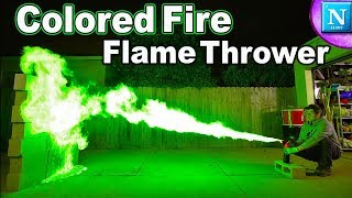 Download Colored Fire Flame Thrower: Breathe Fire Like A Dragon Video