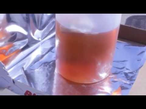 SUN TEA IN ABOUT ONE HOUR