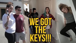 FRIENDS TOUR OUR NEW HOME!
