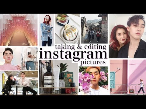 HOW TO TAKE + EDIT INSTAGRAM PHOTOS ft. Ivan Lam