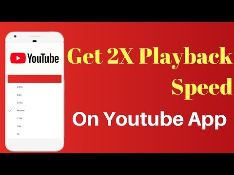 How To Change The Playback Speed Of YouTube Videos On Android