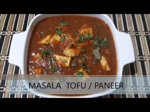 MASALA TOFU / PANEER MASALA - SUPER TASTY