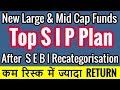 Mutual Funds | Top Large and Mid Cap Mutual Funds | Top Sip Mutual Funds New Category 2018