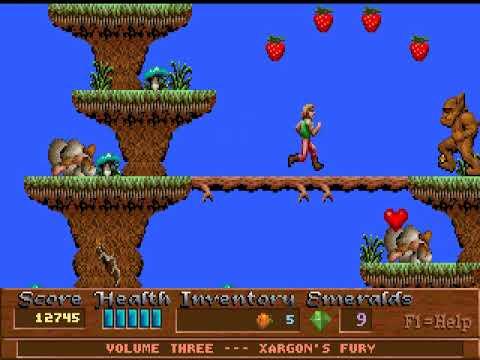 DOS Game: Xargon - Xargon's Fury