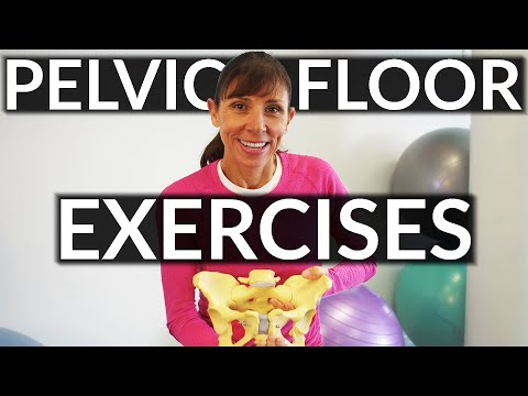 Physical Therapist Pelvic Floor Exercises for Beginners
