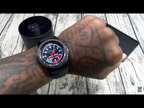 Samsung Gear S3 Frontier Unboxing and First Impressions
