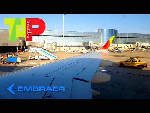 TAP Express  | Embraer E190 | Porto ✈ Madrid | Approach and Landing