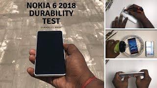 Nokia 6 2018 - Durability Test - Screen test,Scratch test,Flame Test,Water test,Bend test,drop test