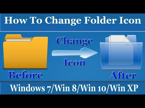 How to Change Folder icon in Windows 7/8/10/XP - Customize Folder