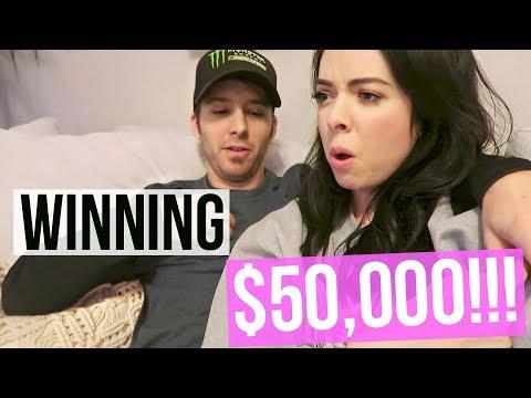 WINNING $50,000! Seriously.