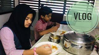Breakfast to Lunch I Mixed vegetable Koottan I Simple Sambar recipe I Scrambled egg Curry