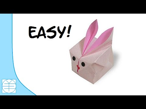 Easter Origami Inflatable Bunny. ( Easy Instructions) (Full HD)