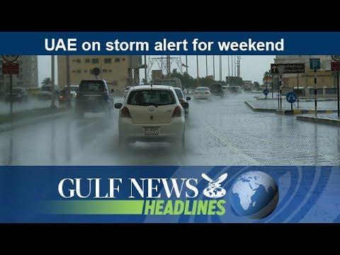 UAE on storm alert for weekend - GN Headlines