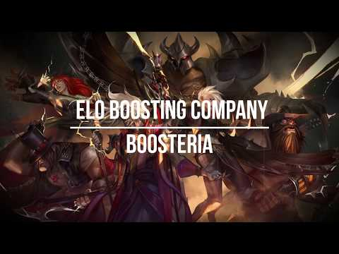 Elo Boost by Boosteria - Promo video of lol boosting service