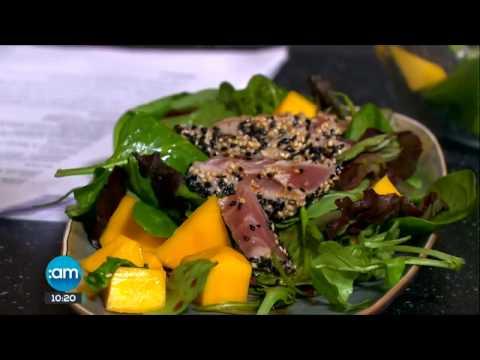 Tuna Tataki and Mango Salad