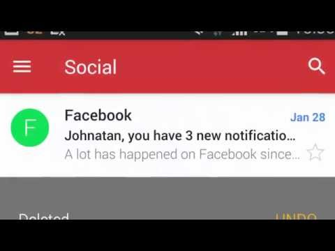 How to delete messages in Gmail with a simple swipe Android