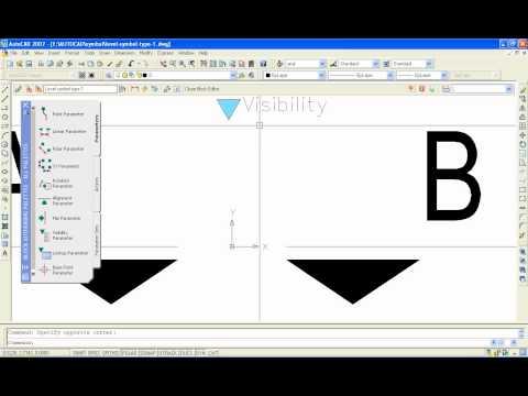 Create level symbol dynamic block autocad type 1