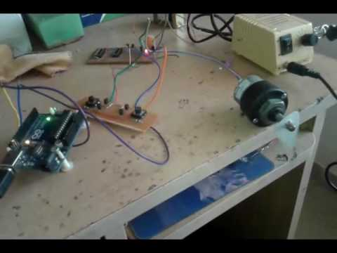 DC motor forward and reverse with speed control