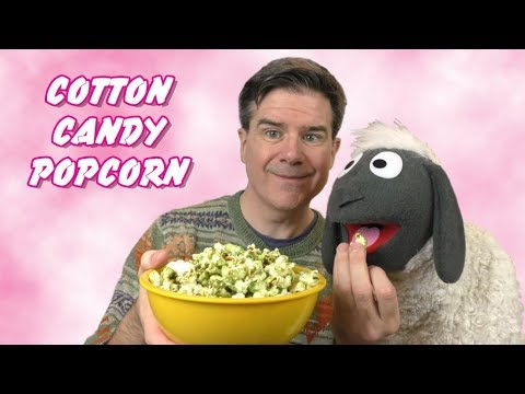 Cotton Candy Popcorn:  3 Ingredient Recipes
