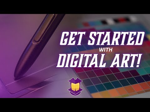 How To Get Started with Digital Art & 6 Pro Tips!