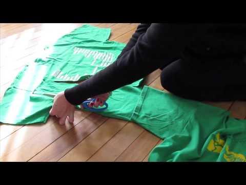 Add Sleeves to a Tshirt - Make Sleeves on a T-Shirt Longer - Easy DIY Tutorials