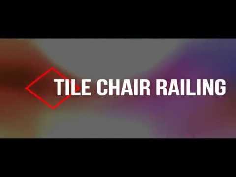 tile chair railing