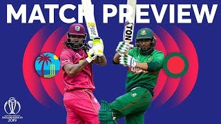Match Preview - West Indies v Bangladesh | ICC Cricket World Cup 2019